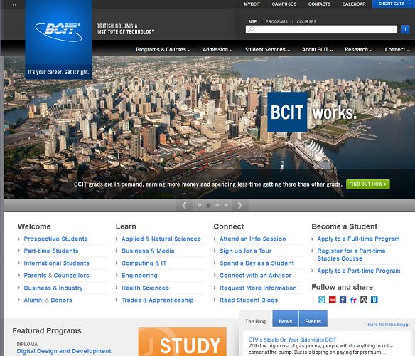 BCIT website