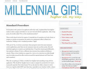 A Millenial Girl