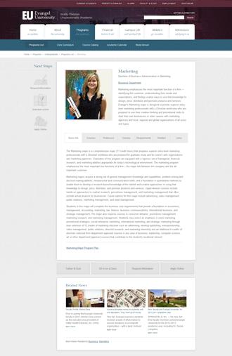 Evangel University - Marketing Program