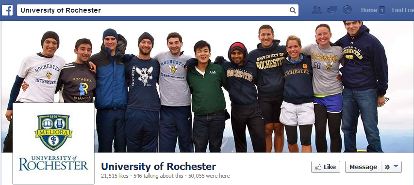 University of Rochester Facebook Cover
