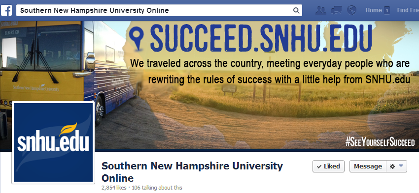 SNHU Facebook Cover Image