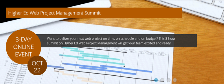 Higher Ed Web Project Management Summit