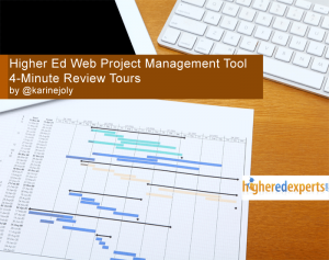Higher Ed Web Project Management Tools