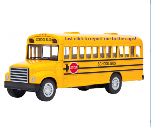 School bus, a metaphor of your school social media account