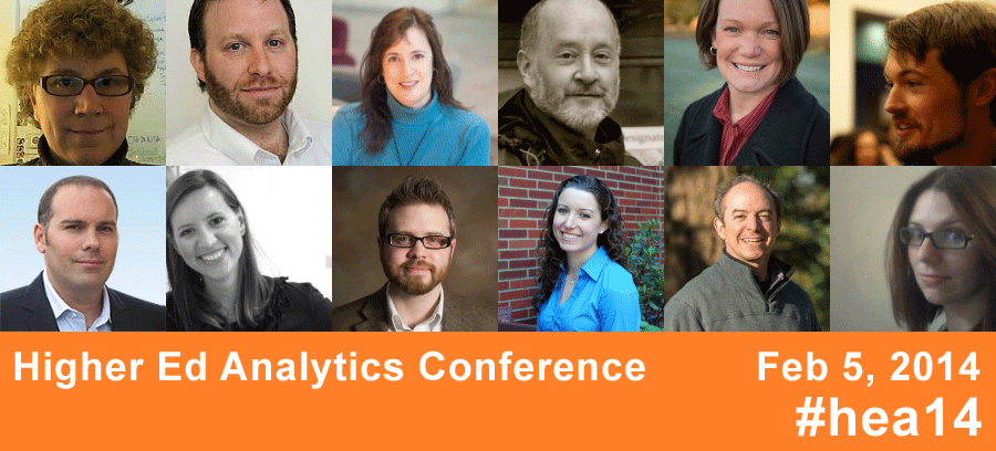 Higher Ed Analytics Conference - Speaker Line-up