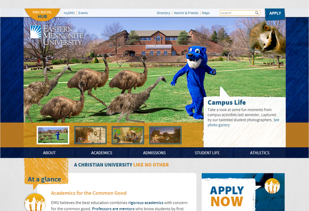 April 1st 2014 - Eastern Mennonite University
