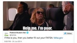 FAFSA tweet - Liz Gross Blog