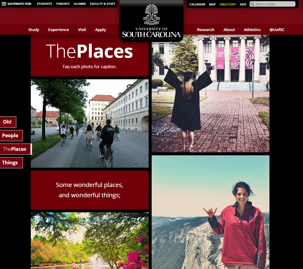 University of South Carolina_Places