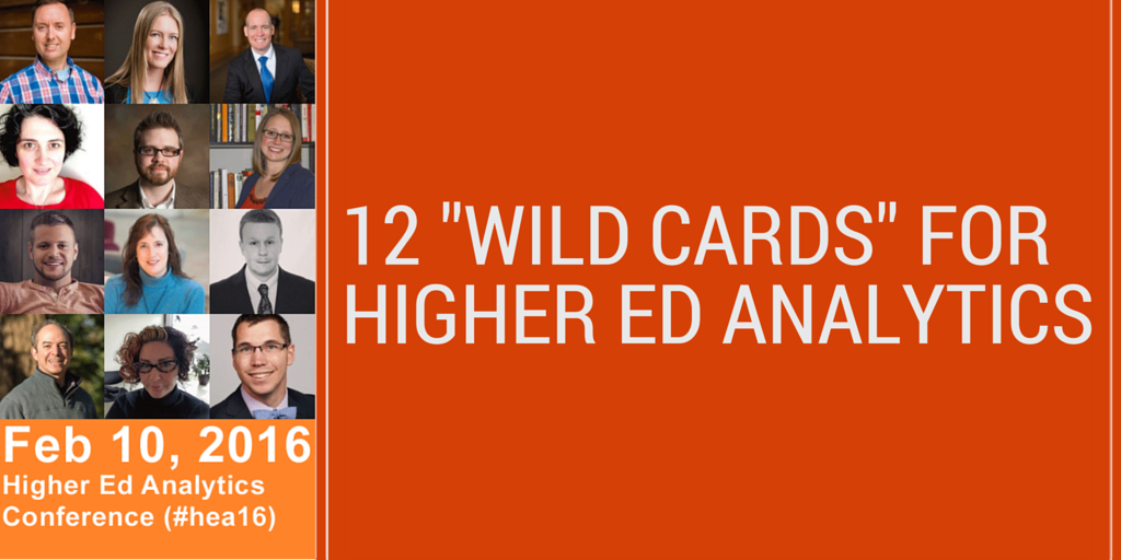 12 Wild Cards for Higher Ed Analytics
