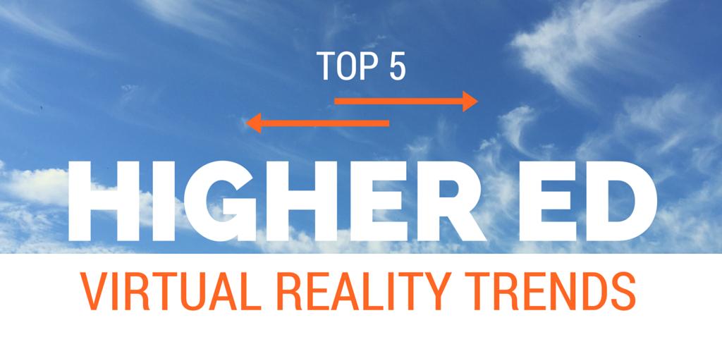 Top 5 VR trends