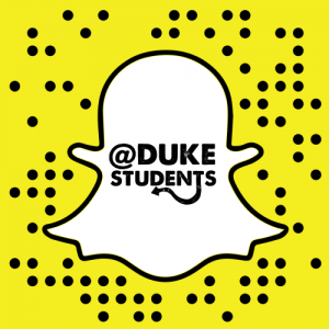DukeStudents Snapchat Account