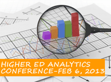 Higher Ed Analytics Conference #hea13