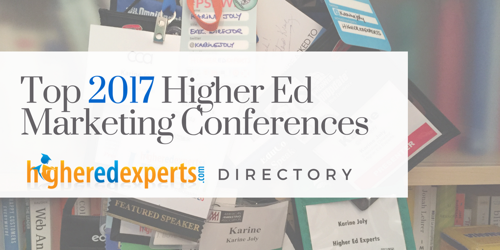 2016 Higher Education Marketing Conferences, Higher Ed Web Conferences & Events