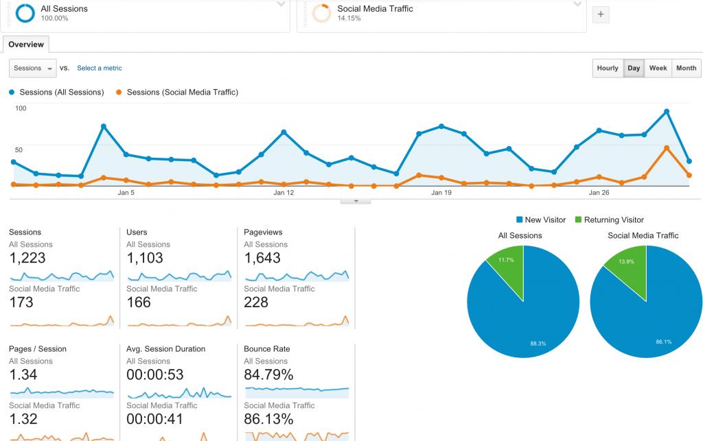 Social Media Traffic Segment