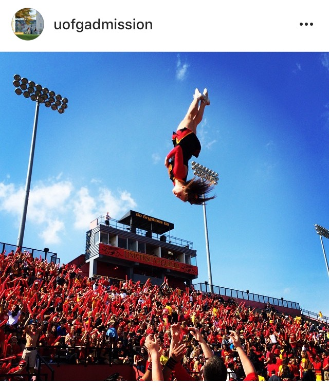 cheerleader post