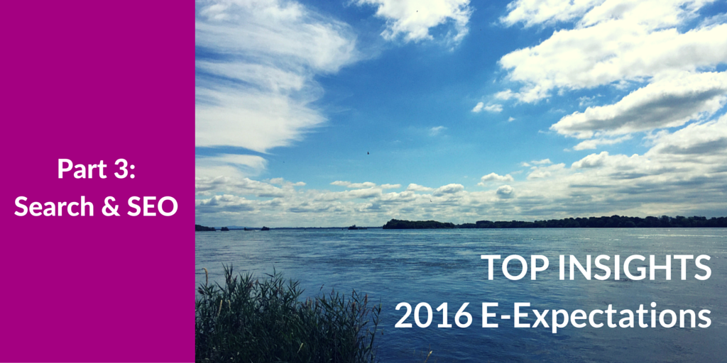 Top Insights on Search Engine Optimization for Higher Ed from the 2016 Student E-Expectations Survey [Exclusive]