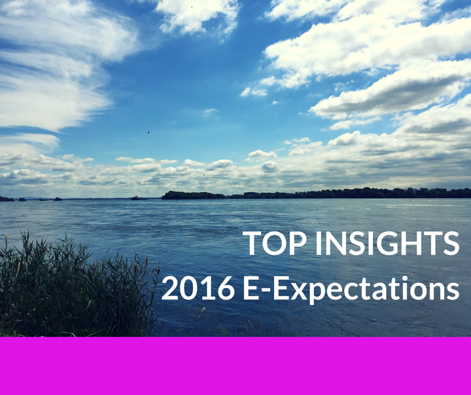 Top Insights on Social Media for #HigherEd from the 2016 Student E-Expectations Survey [Exclusive] #hesm