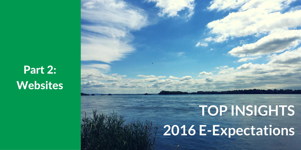 Top Insights on Websites for Higher Ed from the 2016 Student E-Expectations Survey [Exclusive]