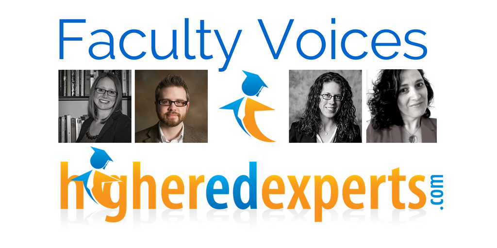 Higher Ed Experts Faculty Voices by Joshua Dodson