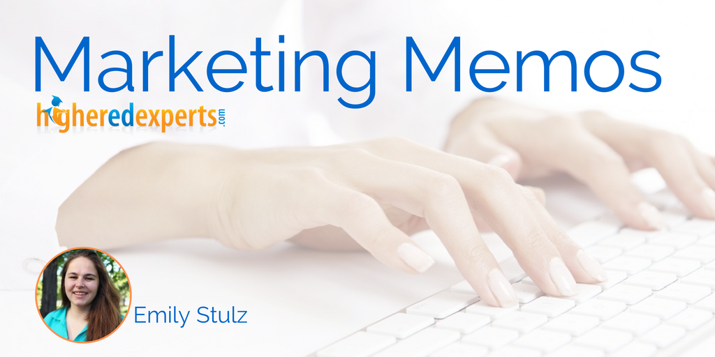 Higher Ed Marketing Memos:  Why UTM Parameters are a #HigherEd Social Media Pro's Best Friend by Emily Stulz #hesm