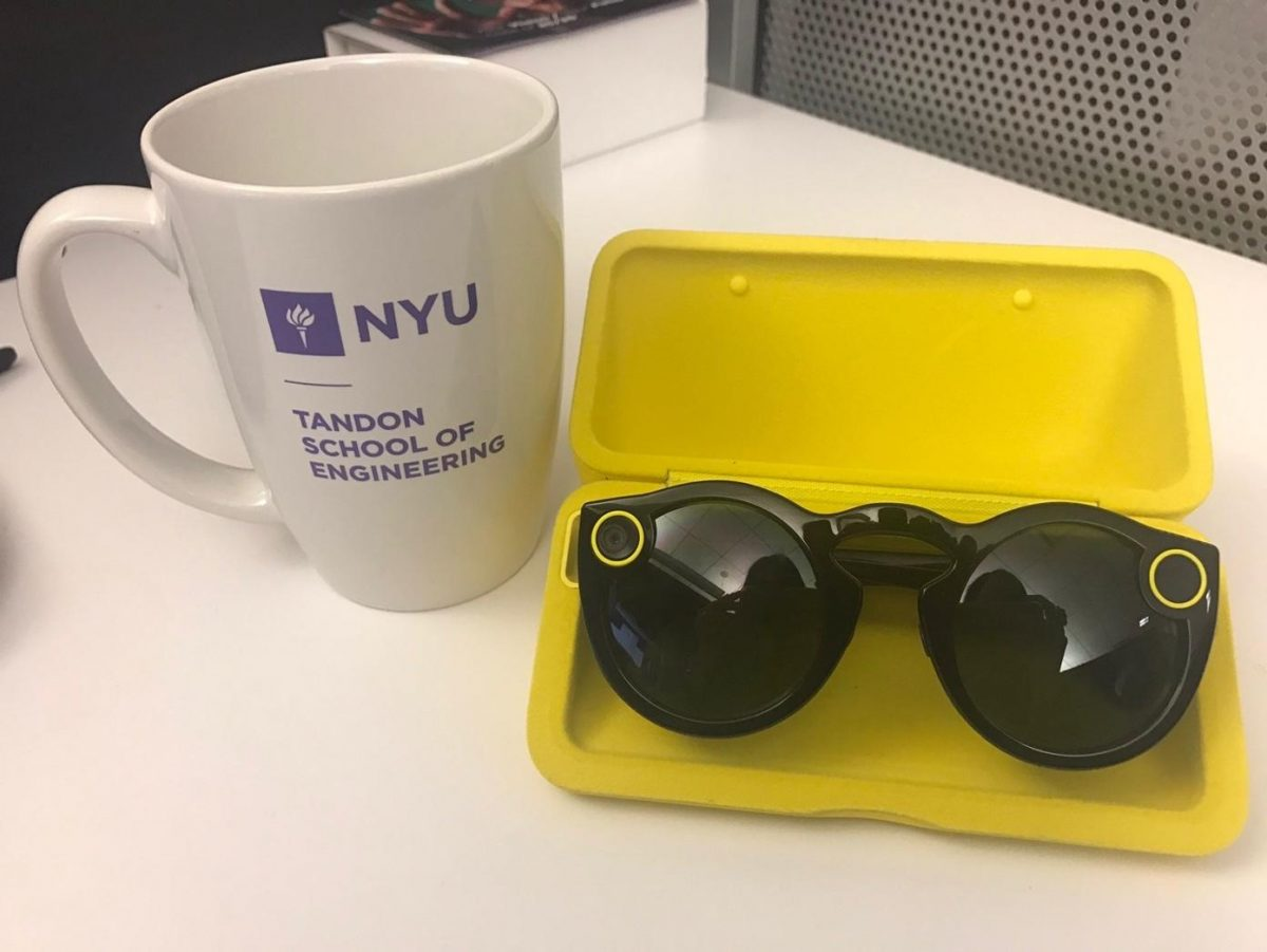 Snap's Spectacles: sun glasses with a camera to let you snap on the go