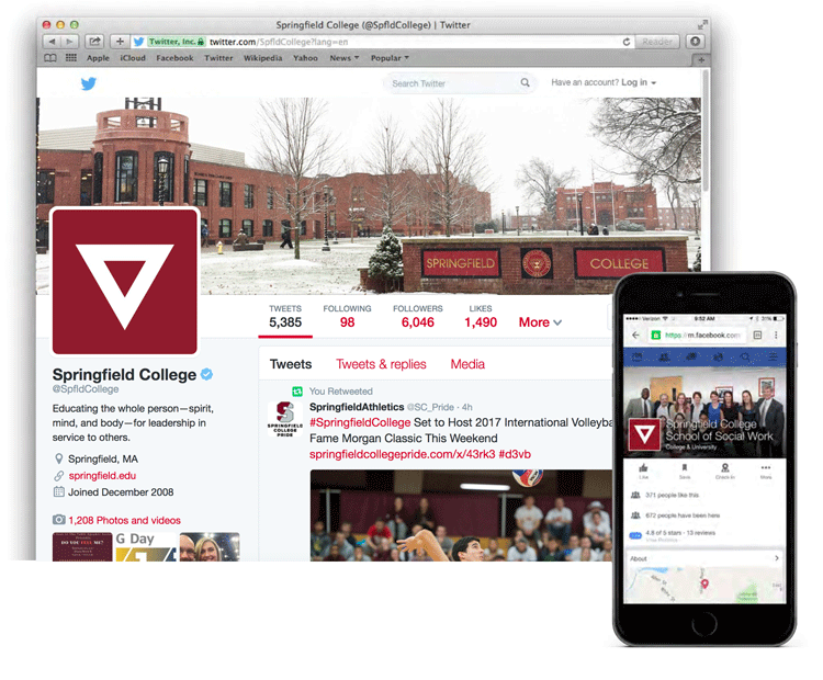 Springfield College on Twitter