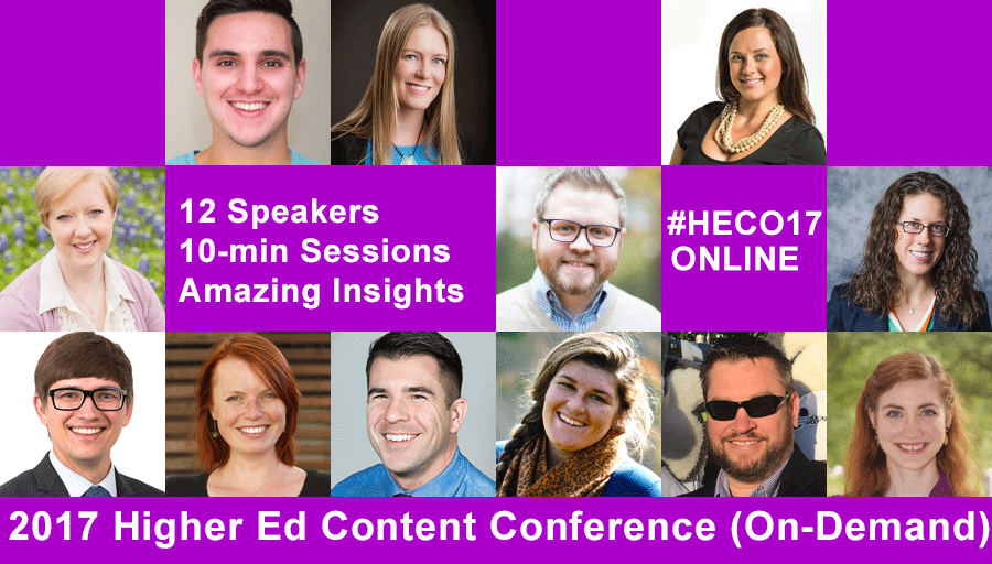Higher Ed Content Conference