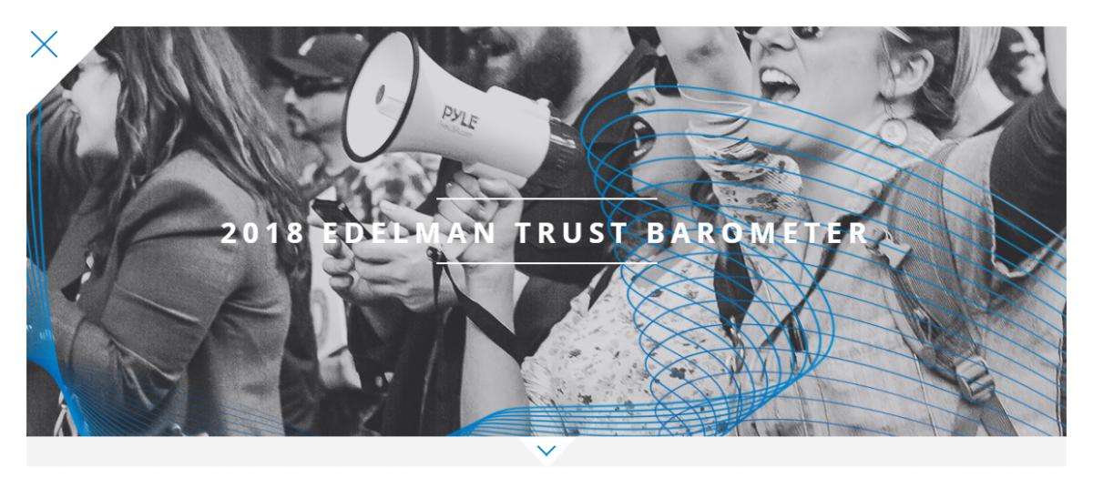 2018 Edleman Trust Barometer