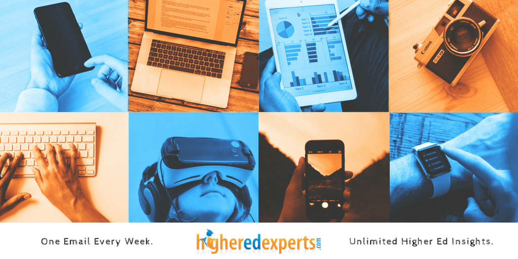 Newsletter: #HigherEd Websites, Epic Summer #HESM Content, Insta Stories Templates & 2018 E-Expectations Findings