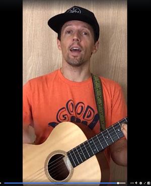 Jason Mraz in Longwood University' SnapSync Video