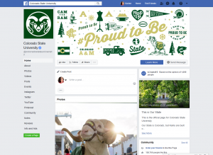 Colorado State University Facebook