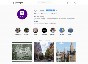 New York University Instagram