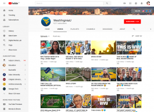 WestVirginiaU YouTube