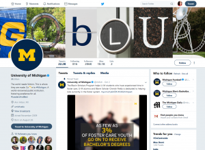 University of Michigan - Twitter